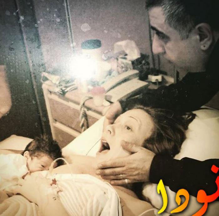 أهو سنغور بعد ولادة أول أولادها