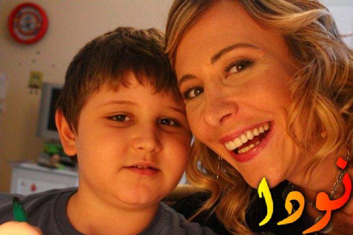 أهو سنغور مع ابنها