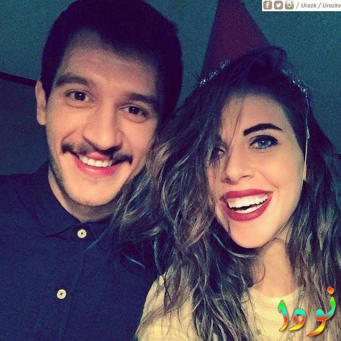 أوراز كايغيلار أوغلو و زوجته ميلسا