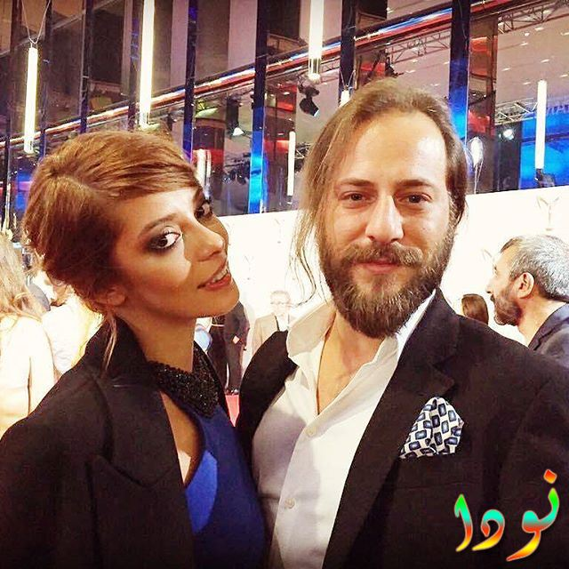 الفنان كعان طاشانر مع الفنانة سيلين شكرجي