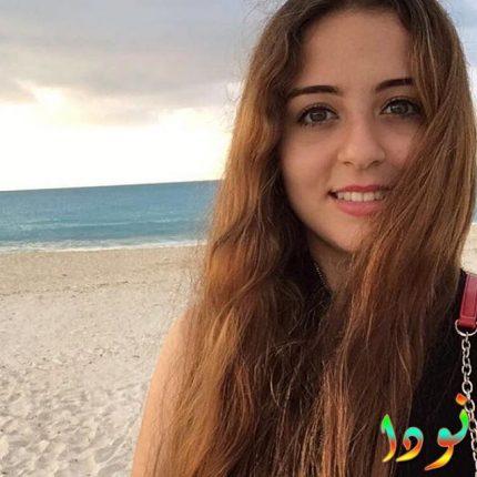 سارة نور على البحر