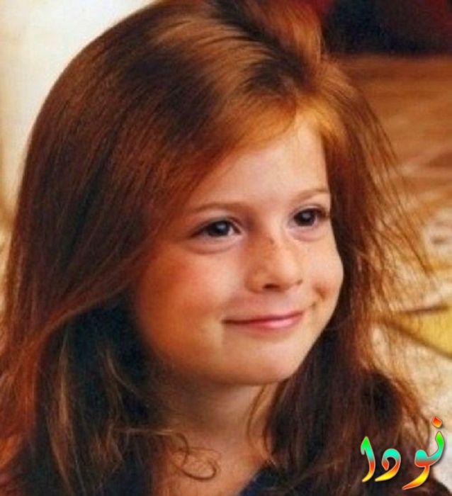 سو كوتلو وهي صغيرة