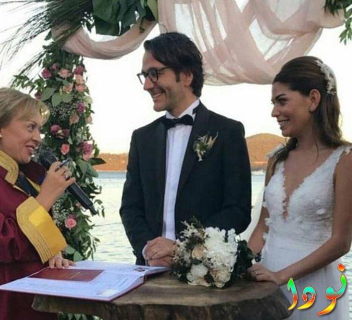 سيرين موراي في حفل زفافها