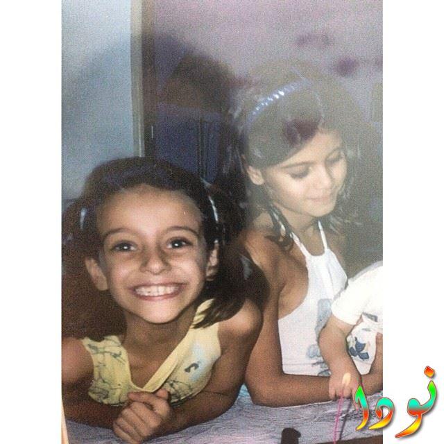 ميران عبدالوارث وهي صغيرة