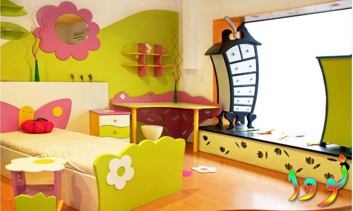 أحدث ديكور غرف أطفال