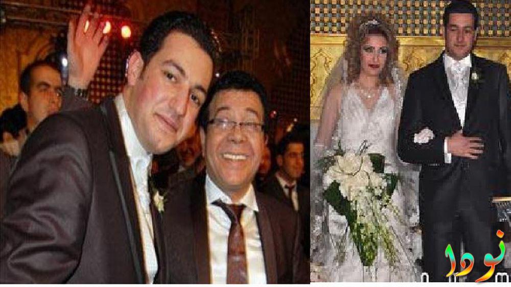 أحمد آدم في فرح ابنته