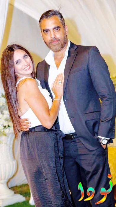 أحمد كرارة مع أخته نسرين