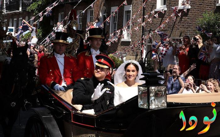 الأمير خاري دوق ساسكس وميغان ماركل بعد مغادرة القصر وندرسور