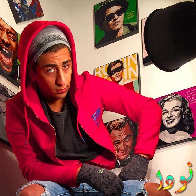 الفنان الشاب فهد الصالح