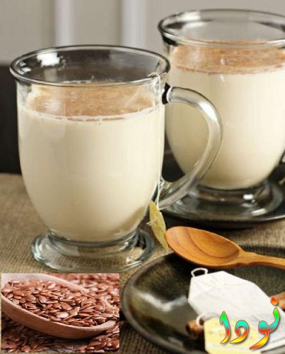 حب الرشاد مع الحليب