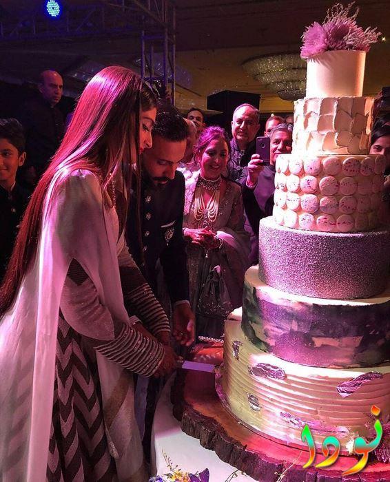 حفل زفاف سونام كابور و أناندا أهوجا