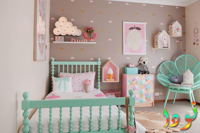 ديكورات بناتي لأحدث غرف نوم