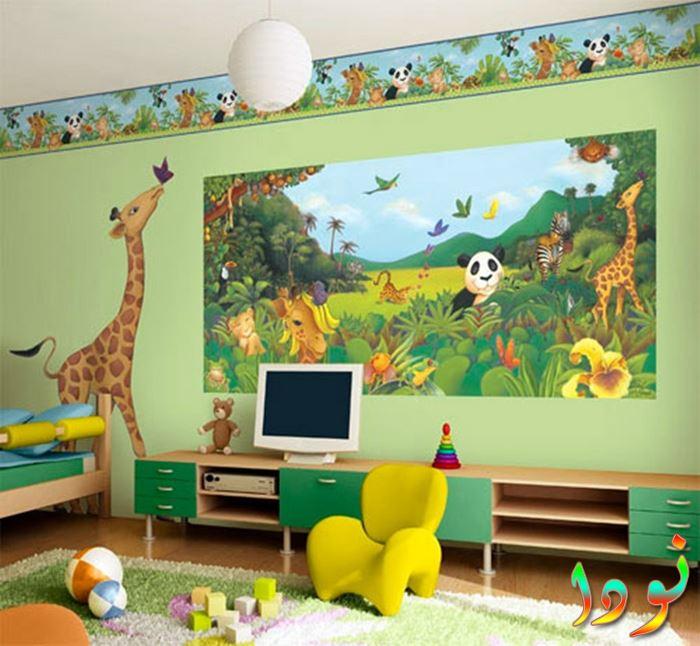 ديكورات حوائط لغرفة أطفال