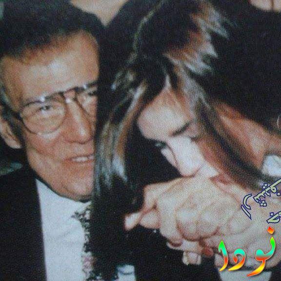 رانيا فريد مع وحش الشاشة فريد شوقي