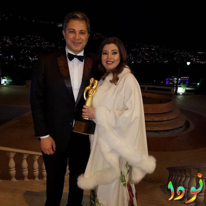 رانيا فريد وزوجها