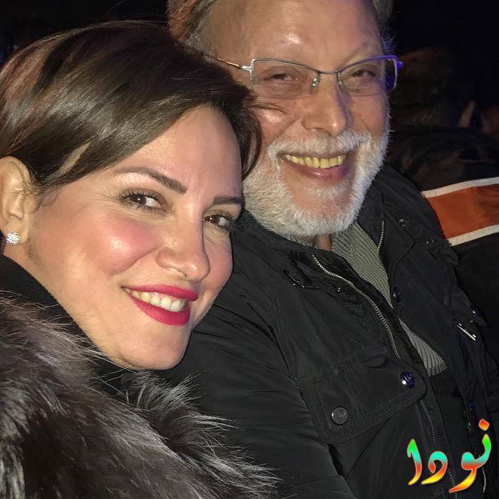 ريهام عبد الغفور مع والدها