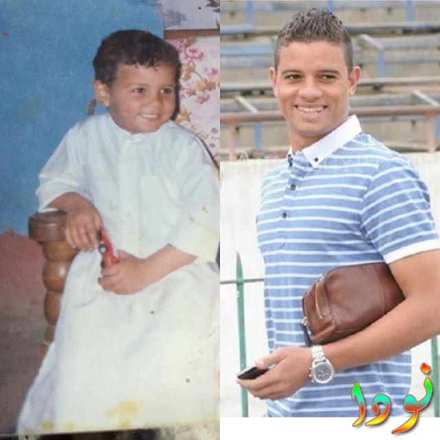 سعد سمير وهو صغير