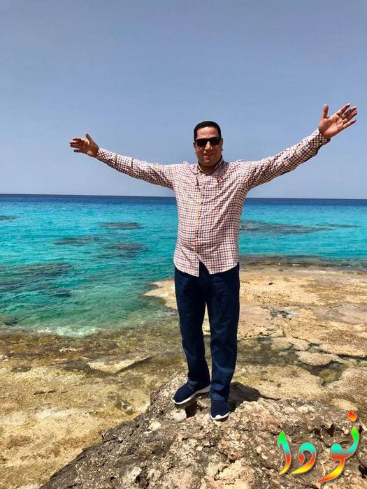 صورة الإعلامي عبد الناصر زيدان على البحر