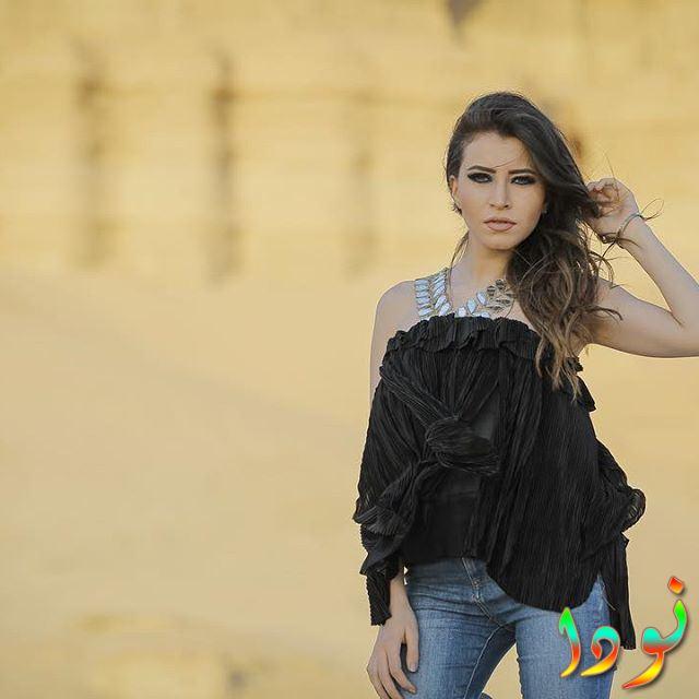 صورة الممثلة سارة الشامي
