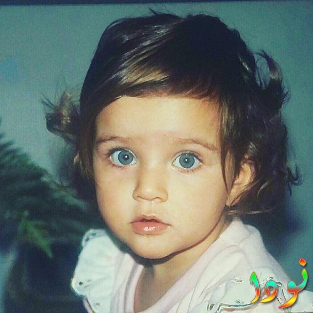 صورة ايرام هيلفجي اوغلو وهي صغيرة طفلة
