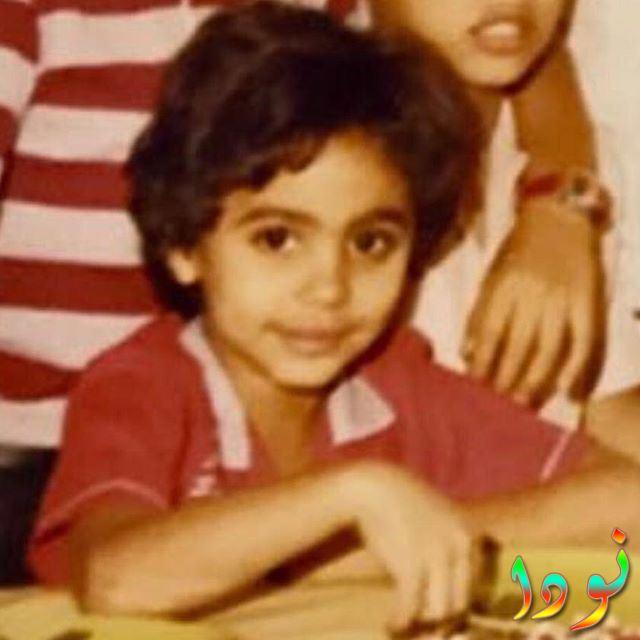 صورة تامر حسني وهو طفل صغير