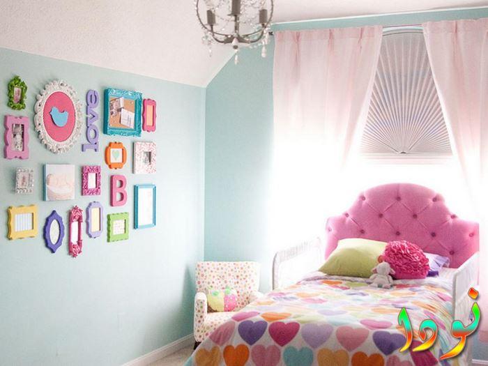 غرفة بناتي جديدة