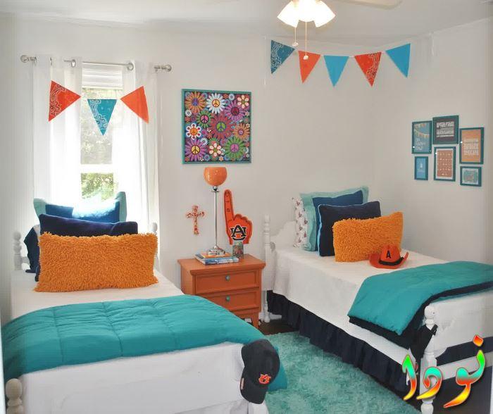 غرفة نوم أولاد لطفلين