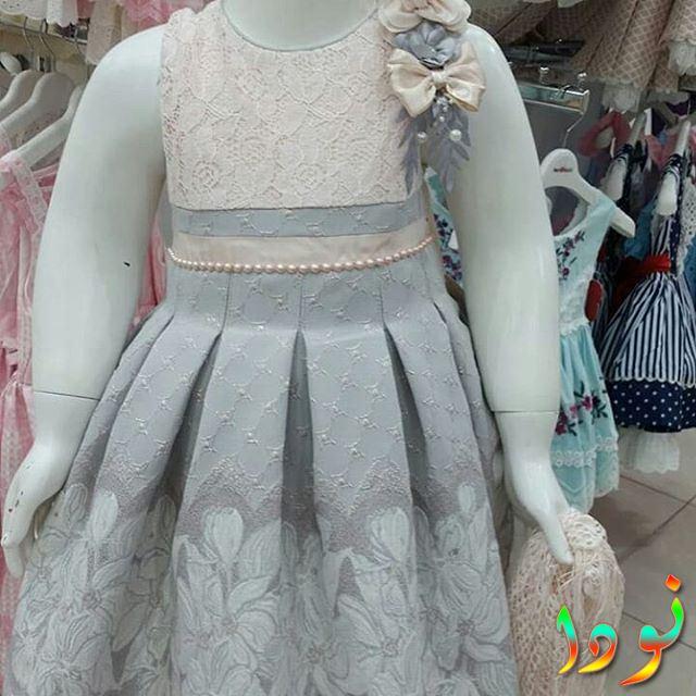 فستان رمادي رائع