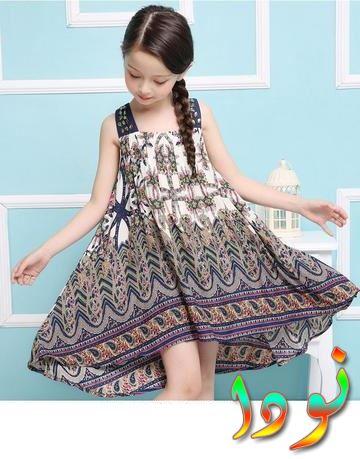 فستان صيفي للفتيات الصغيرات