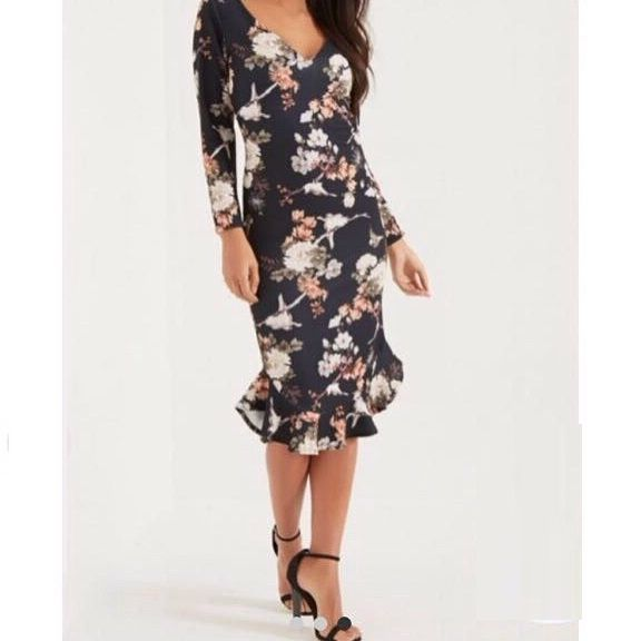 فستان ملون قصير