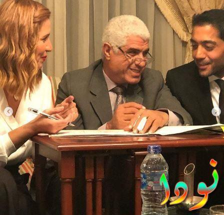 كتب كتاب أحمد فلوكس وهنا شيحه