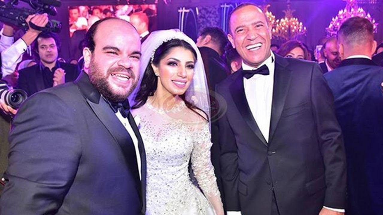 محمد عبد الرحمن وزوجته وأشرف عبد الباقي