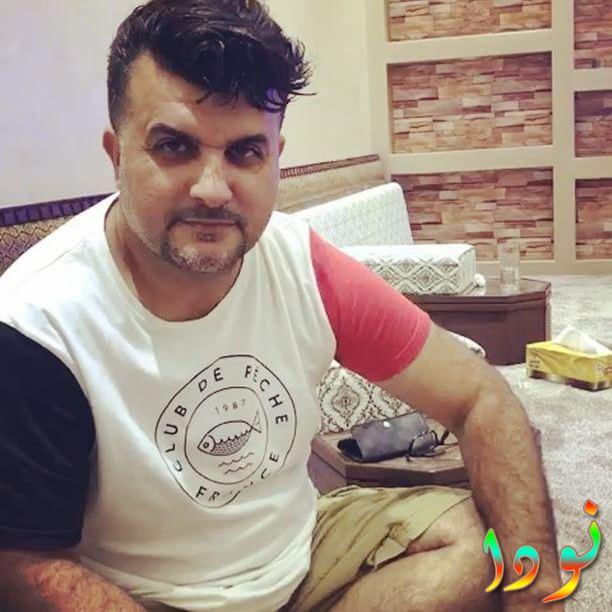 مشاري البلام في منزله