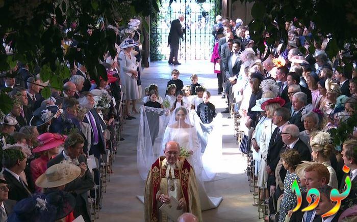 ميجان ماركل يصل إلى مصلى كنيسة سانت جورج