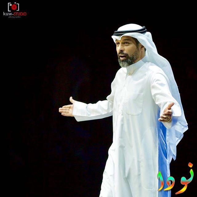 يعقوب عبد الله أثناء عرض مسرحي