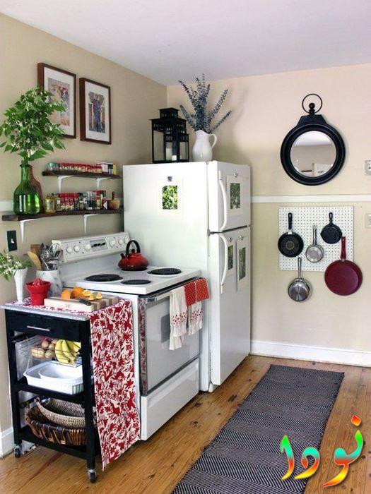 أدوات مطبخ للمساحة الصغيرة