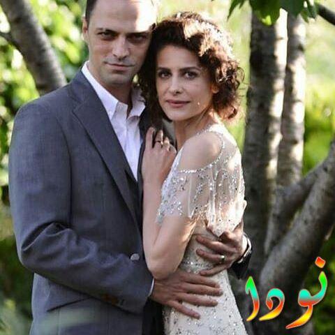 إبرو أوزكان مع زوجها