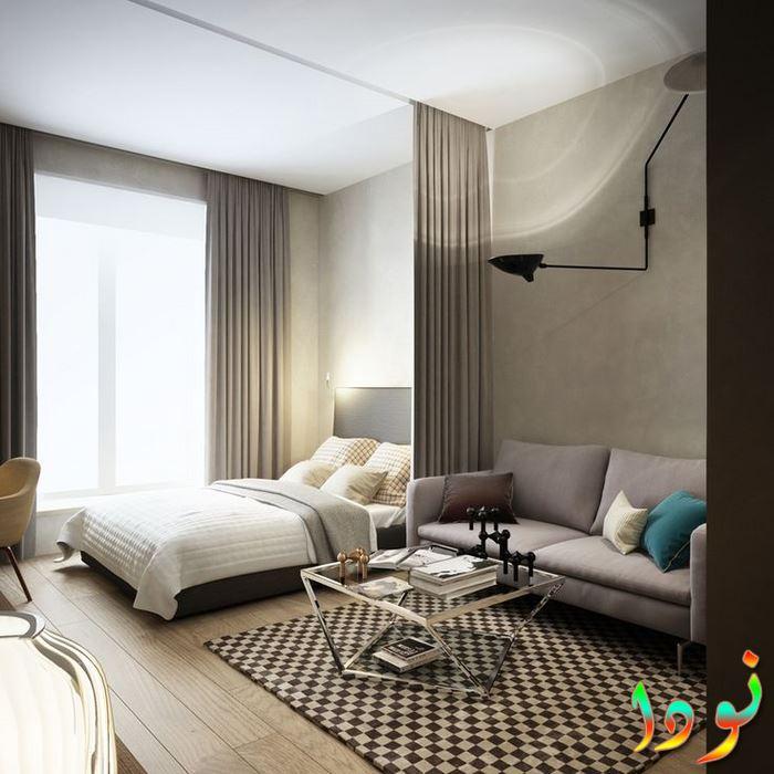ديكورات غرف نوم صغيرة وجميلة