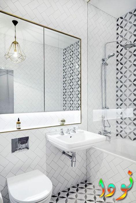 ديكور حمام بسيط