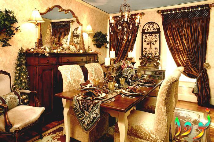 ديكور غرفة طعام تصميم ستيل