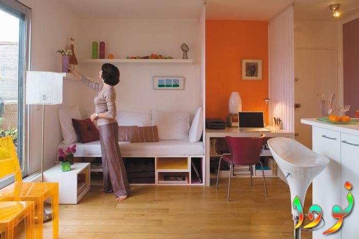 ديكور غرفة نوم أطفال صغيرة