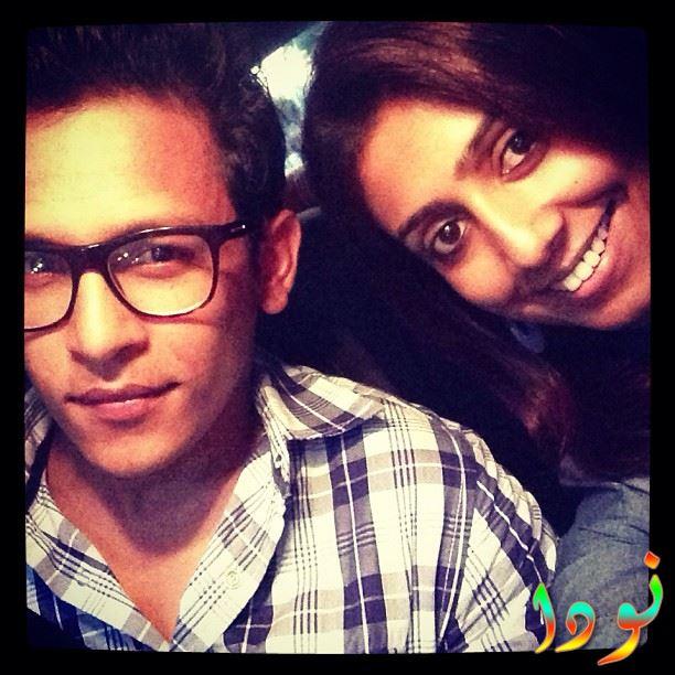 صورة جديدة لابهيشيك راوات وزوجته