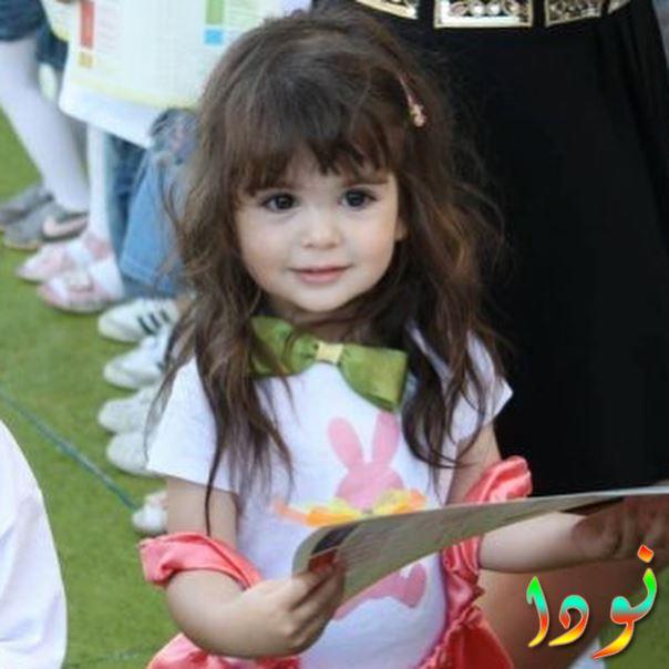 صورة جميلة لمليسا جيز سينجيز وهي صغيرة