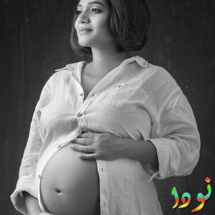 صورة جميلة ليورميلا كانيتكار وهي حامل
