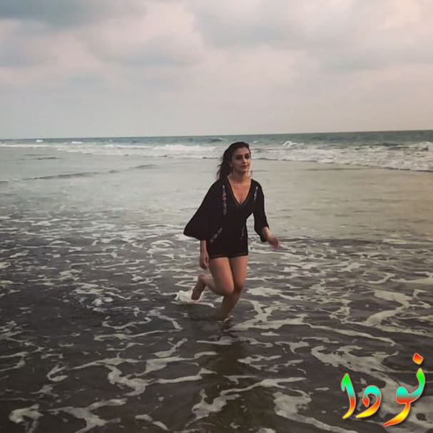 صورة لآرتي شهابريا في البحر