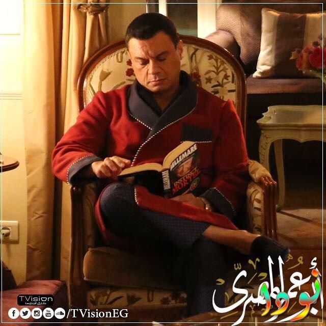 عباس ابو الحسن من مسلسل أبو عمر المصري