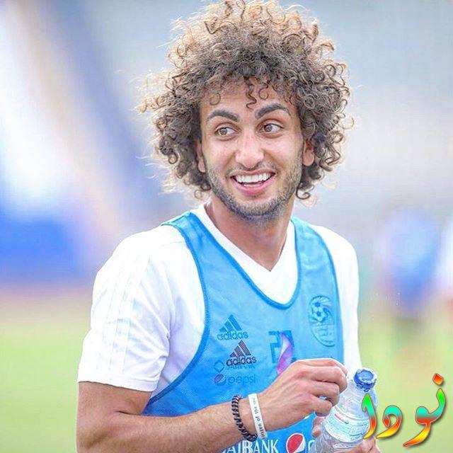 عمرو وردة أثناء التدريب