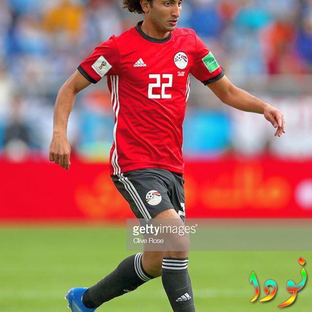 عمرو وردة أثناء لعبه مباراة