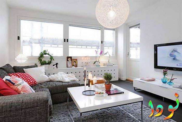 غرفة معيشة صغيرة