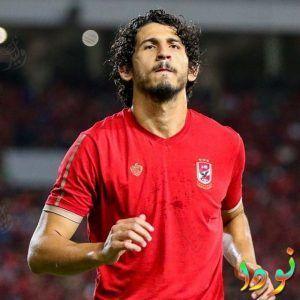 لاعب كرة القدم المصري أحمد حجازي